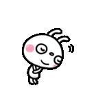 ふんわかウサギ ポップタッチ風3(個別スタンプ:09)