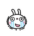 ふんわかウサギ ポップタッチ風3(個別スタンプ:35)