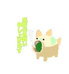 色鉛筆風スタンプ〜暑中/残暑見舞い〜(個別スタンプ:04)