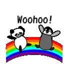 毎日使えるペンギンとパンダ2(英語版)(個別スタンプ:06)