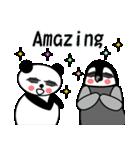 毎日使えるペンギンとパンダ2(英語版)(個別スタンプ:08)