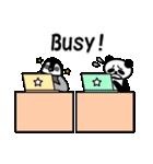 毎日使えるペンギンとパンダ2(英語版)(個別スタンプ:14)