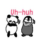 毎日使えるペンギンとパンダ2(英語版)(個別スタンプ:16)