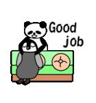 毎日使えるペンギンとパンダ2(英語版)(個別スタンプ:17)