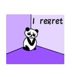 毎日使えるペンギンとパンダ2(英語版)(個別スタンプ:18)