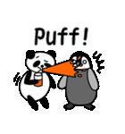 毎日使えるペンギンとパンダ2(英語版)(個別スタンプ:19)