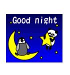毎日使えるペンギンとパンダ2(英語版)(個別スタンプ:21)