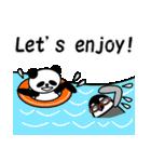 毎日使えるペンギンとパンダ2(英語版)(個別スタンプ:22)