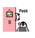 毎日使えるペンギンとパンダ2(英語版)(個別スタンプ:23)