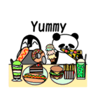 毎日使えるペンギンとパンダ2(英語版)(個別スタンプ:27)