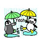 毎日使えるペンギンとパンダ2(英語版)(個別スタンプ:32)
