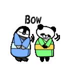 毎日使えるペンギンとパンダ2(英語版)(個別スタンプ:39)