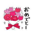 花*花*ねこ(個別スタンプ:31)