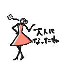 Woman Otona【日本語】(個別スタンプ:22)
