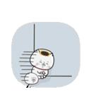 毎日使える☆招きネコまる&こまる(個別スタンプ:34)