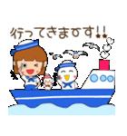 水兵さんとかもめちゃんの日常(個別スタンプ:05)
