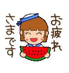 水兵さんとかもめちゃんの日常(個別スタンプ:09)