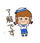 水兵さんとかもめちゃんの日常(個別スタンプ:13)