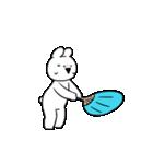 すこぶる動くウサギ【常夏】(個別スタンプ:9)