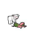 すこぶる動くウサギ【常夏】(個別スタンプ:13)