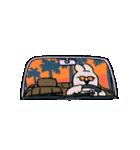 すこぶる動くウサギ【常夏】(個別スタンプ:16)