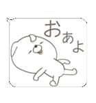 Lサイズ吹き出し うさぎ27(秋モード)(個別スタンプ:03)