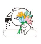 Lサイズ吹き出し うさぎ27(秋モード)(個別スタンプ:33)