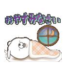Lサイズ吹き出し うさぎ27(秋モード)(個別スタンプ:36)