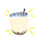 【実写】タピオカ☆ミルクティー(個別スタンプ:20)