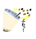 【実写】タピオカ☆ミルクティー(個別スタンプ:33)