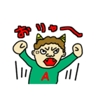 あけばぁちゃんの1日(個別スタンプ:06)