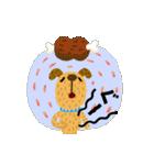 絵本みたいな犬スタンプ1(個別スタンプ:31)