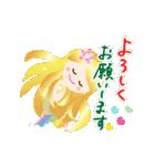動く♪のりのりマーメイド(個別スタンプ:3)