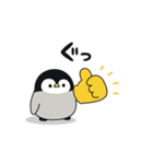 うごく♪心くばりペンギン コラボ復刻ver.(個別スタンプ:05)