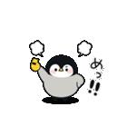 うごく♪心くばりペンギン コラボ復刻ver.(個別スタンプ:12)