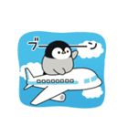 うごく♪心くばりペンギン コラボ復刻ver.(個別スタンプ:16)