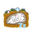 桜を愛する白猫「さくらのすけ」(個別スタンプ:06)