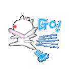 桜を愛する白猫「さくらのすけ」(個別スタンプ:21)