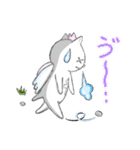 桜を愛する白猫「さくらのすけ」(個別スタンプ:39)