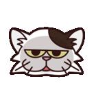 【関西弁】舌をしまい忘れたネコ(個別スタンプ:15)