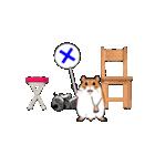 動く!子ネコ&ハムスター(個別スタンプ:05)