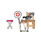 動く!子ネコ&ハムスター(個別スタンプ:06)