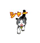動く!子ネコ&ハムスター(個別スタンプ:08)