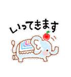 ゆるっと手描きクレヨン♪あいさつ(個別スタンプ:05)