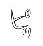 アレンジできる漫画風スタンプ(個別スタンプ:19)