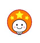 カラフルかわいい☆まんまるスタンプ(個別スタンプ:8)