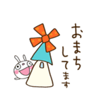 ふんわかウサギ 大人ガーリー風(個別スタンプ:31)