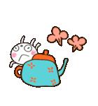 ふんわかウサギ 大人ガーリー風(個別スタンプ:36)