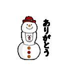 動く♪ビションのぽちゃまるさん2【冬】(個別スタンプ:10)