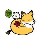 ハムスター秋のアニメスタンプ(個別スタンプ:24)